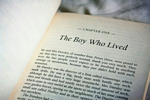 Chapter One: The Boy Who Lived